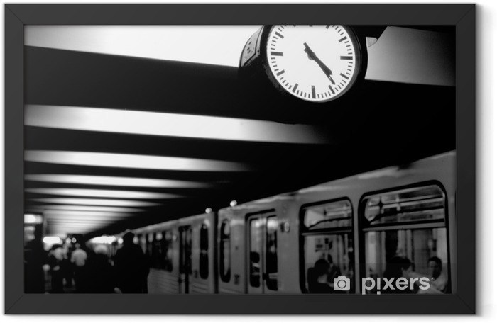 Plakat w ramie Berlin metra - Berlin