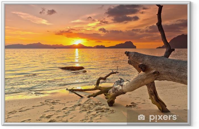 Sunset Framed Poster - Themes