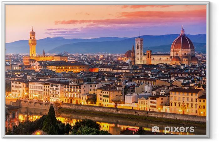 Ingelijste Poster Florence - Thema's
