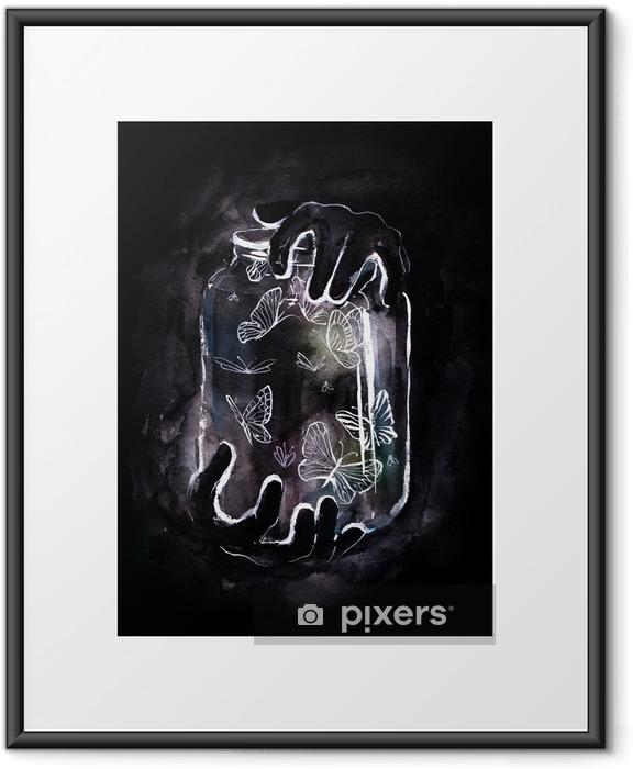 butterflies Framed Poster - Styles