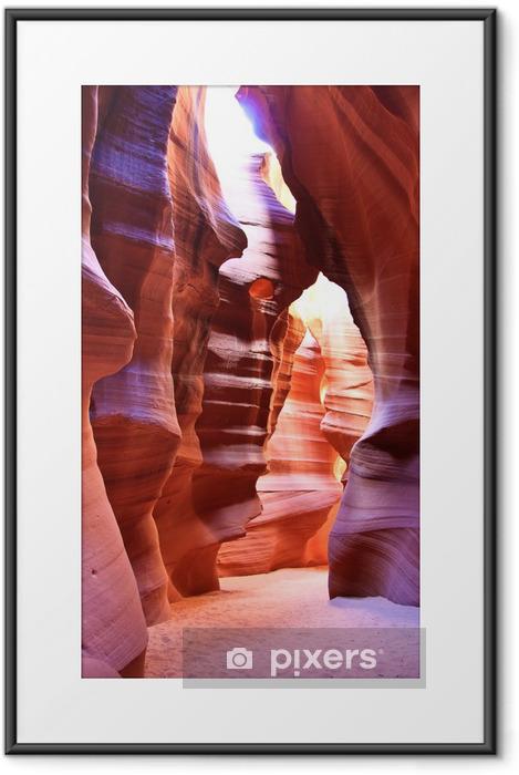 Petrified Sand Dune Framed Poster - America