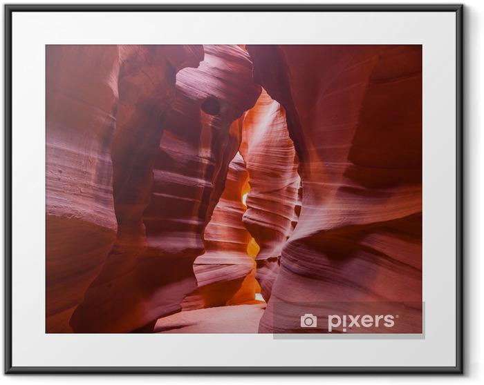 Antelope Canyon, AZ USA Framed Poster - America