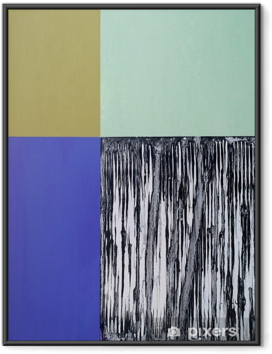 an abstract painting Framed Picture - Graphic Resources