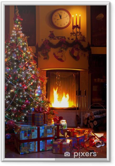 Poster en cadre Noël décoration intérieure - Fêtes internationales