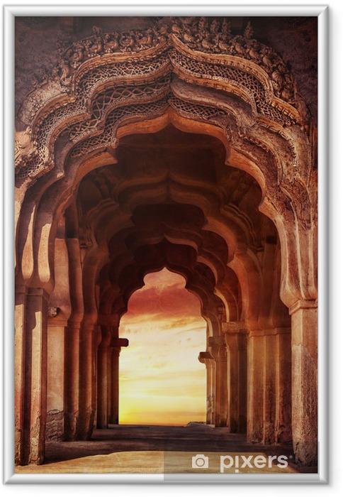 Poster i Ram Gamla tempel i Indien - Teman