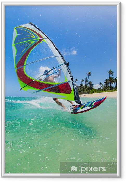 Plakat w ramie Windsurfing - Sporty indywidualne