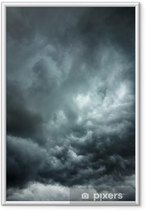 Plakat w ramie Burzliwy chmury - Tematy