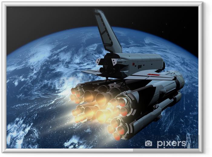 Plakat w ramie Statek kosmiczny - Przeznaczenia