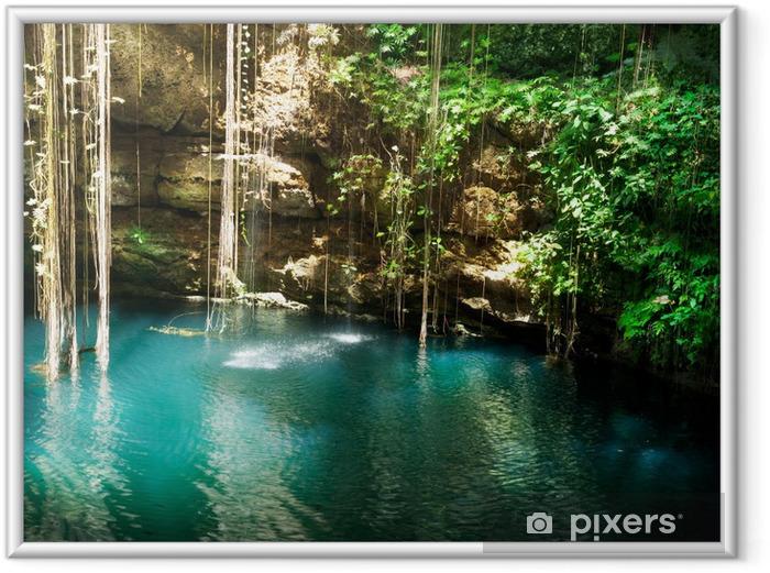 Poster en cadre Ik-Kil Cenote, Chichen Itza, Mexique - Thèmes
