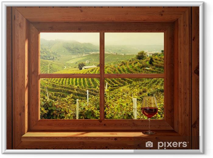 Poster en cadre Vineyards - iStaging