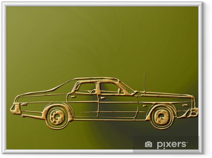 Plakat w ramie Luksusowy samochód 838729 - Tematy