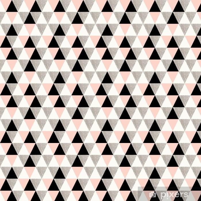 Abstrakt geometrisk mønster Personlige vinyltapet - Lykønskningskort