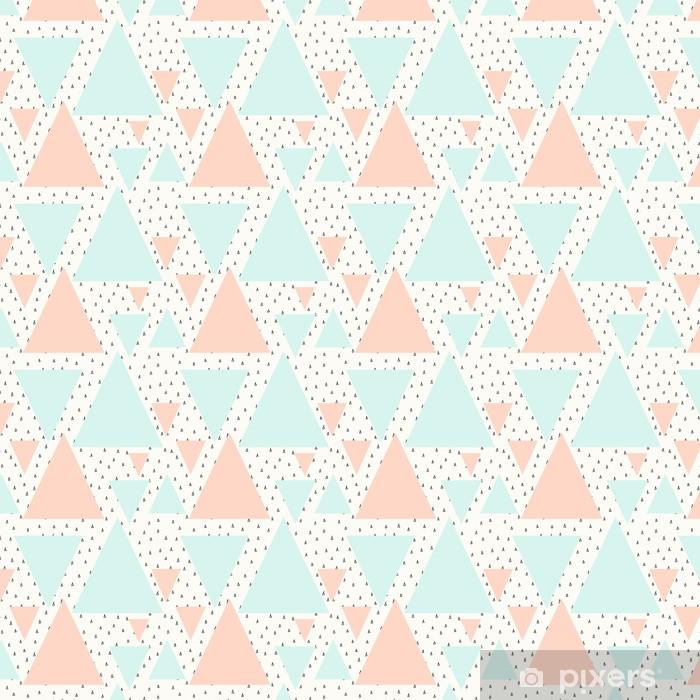 Abstrakti geometrinen kuvio Räätälöity vinyylitapetti -