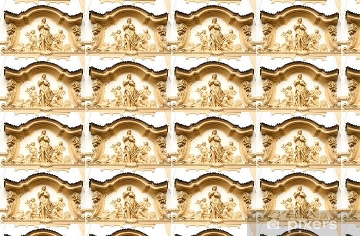 Vinyltapete nach Maß Gebäude Detail in Hradec Kralove, große Stadt in der Tschechischen Republik - Europa