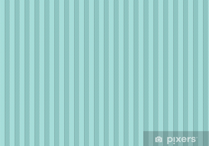 Seamless abstract pattern of classic zigzag. White and black line on a turquoise background. Vector Illustration. Vinyl custom-made wallpaper - Graphic Resources