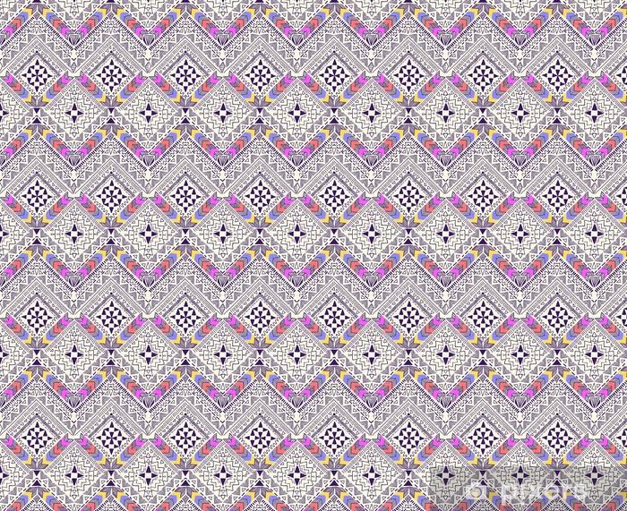Fajne plemiennych geometryczny wzór ~ bezszwowe tło