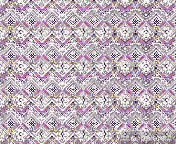 Cool tribal geometric design ~ seamless background Vinyl custom-made wallpaper - Graphic Resources