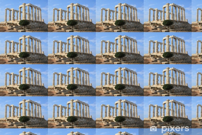 Vinyltapete nach Maß Poseidon-Tempel in Griechenland - Europäische Städte