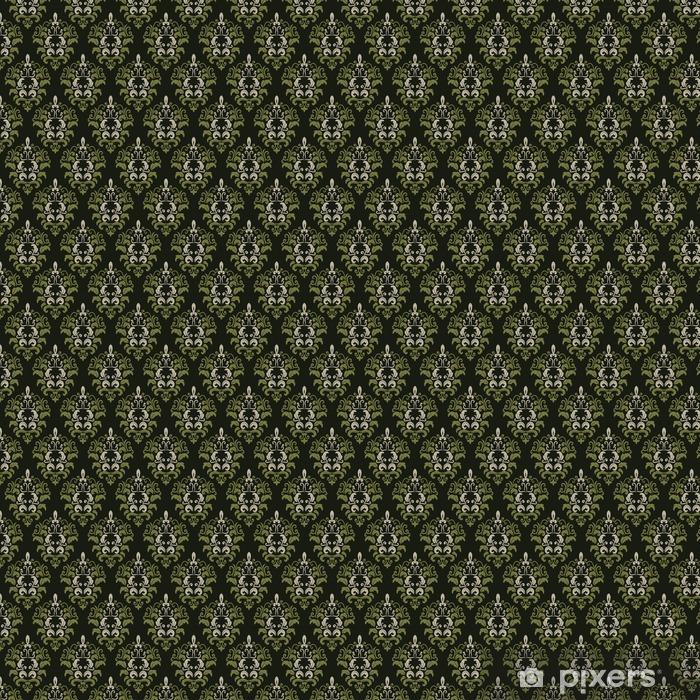 Damask seamless pattern background. Vinyl Custom-made Wallpaper - Graphic Resources