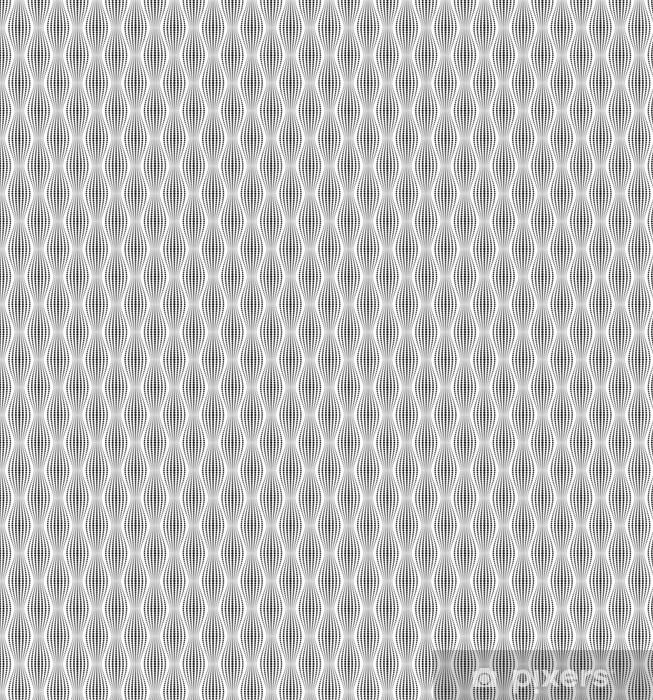 Vinyl behang, op maat gemaakt Vector naadloze textuur. Moderne abstracte achtergrond. Geometrische patronen van punten. - Grafische Bronnen