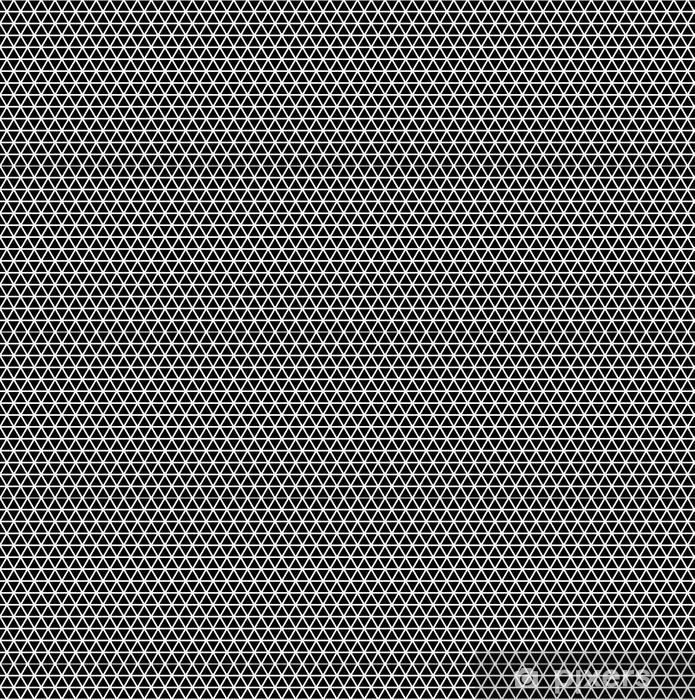 Vinyl behang, op maat gemaakt Naadloze driehoek patroon - Grafische Bronnen
