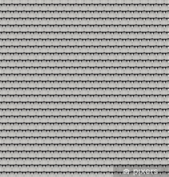 seamless geometric pattern Vinyl Custom-made Wallpaper -