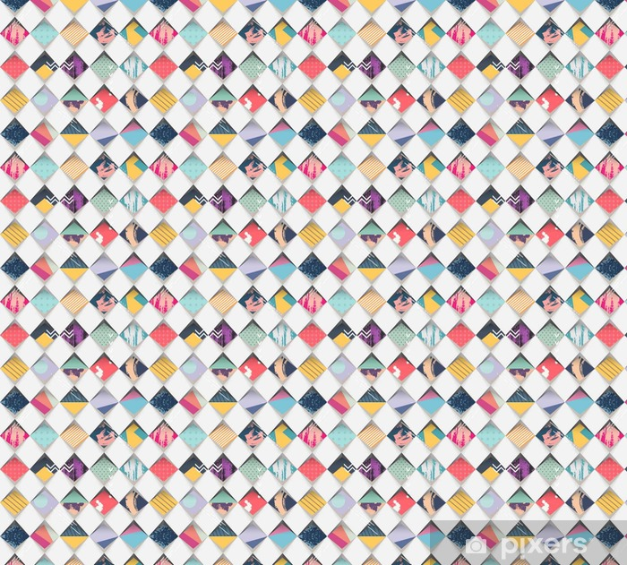 Vinyltapete nach Maß Abstrakte nahtlose geometrischen Hintergrund - Grafische Elemente