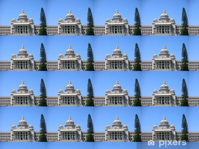 Vinylová tapeta na míru Vidhana Soudha, Landmark Architektura v Bangalore - Asie
