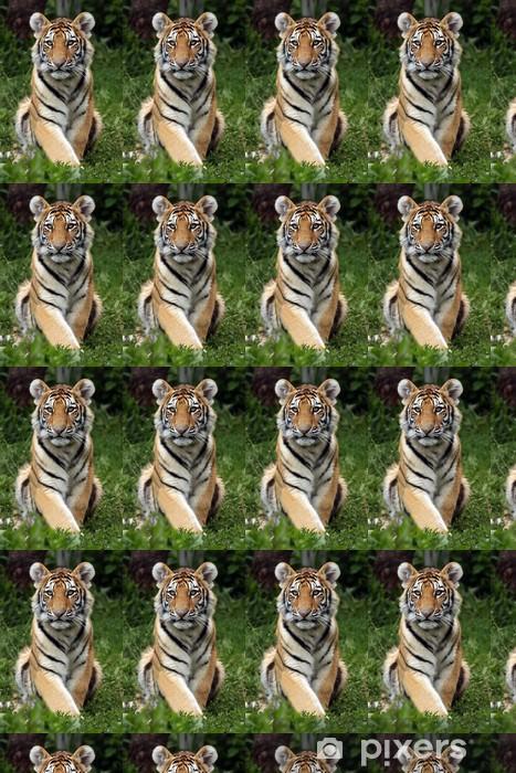 Papier peint vinyle sur mesure Amur Tiger Cub - Mammifères