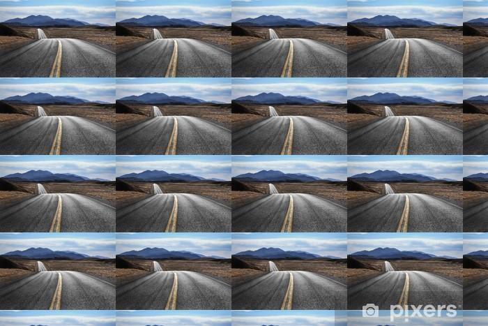 Papier peint vinyle sur mesure Desert Highway, Death Valley National Park, Californie - Thèmes