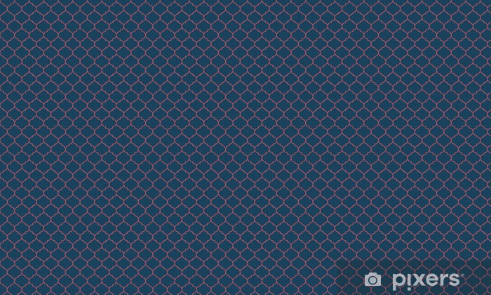 Seamless dark blue and burgundy wide moroccan pattern vector Vinyl custom-made wallpaper - Graphic Resources