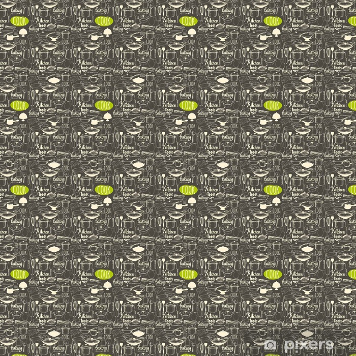 Seamless Background With Kitchen Appliances And Tools Menu Pattern Wallpaper Pixers We Live To Change