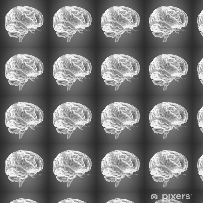 Vinylová tapeta na míru Lidské tělo mozek - Věda