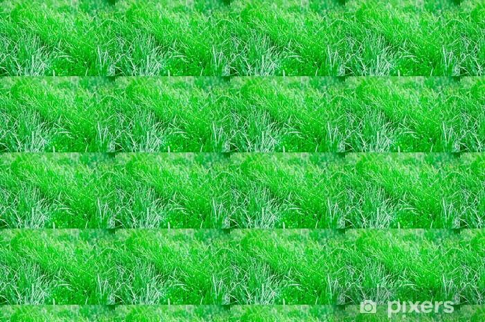 Tapeta na wymiar winylowa Zielonym tle trawy - Tekstury