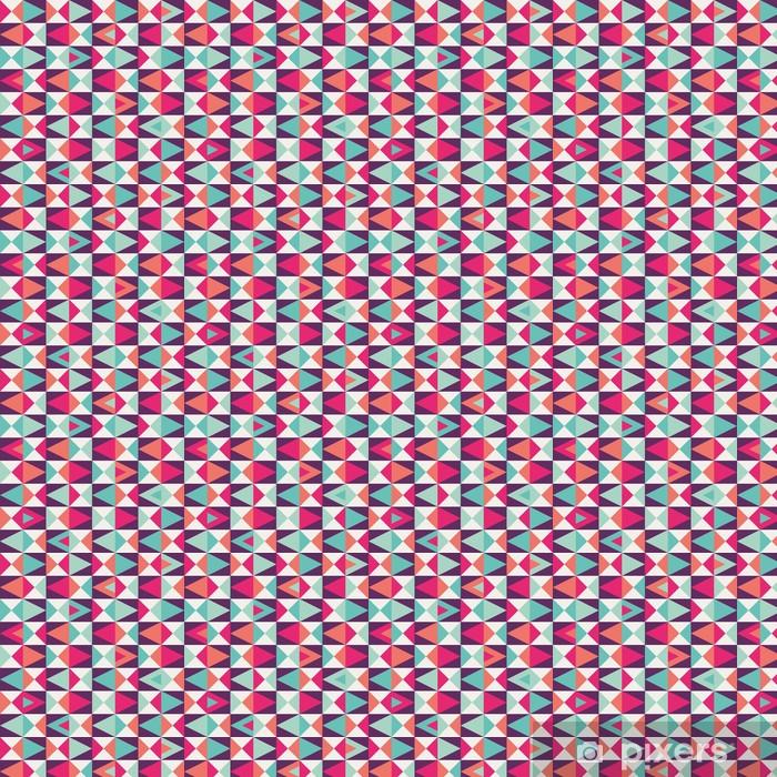 Vinyl behang, op maat gemaakt Naadloze geometrische patroon -