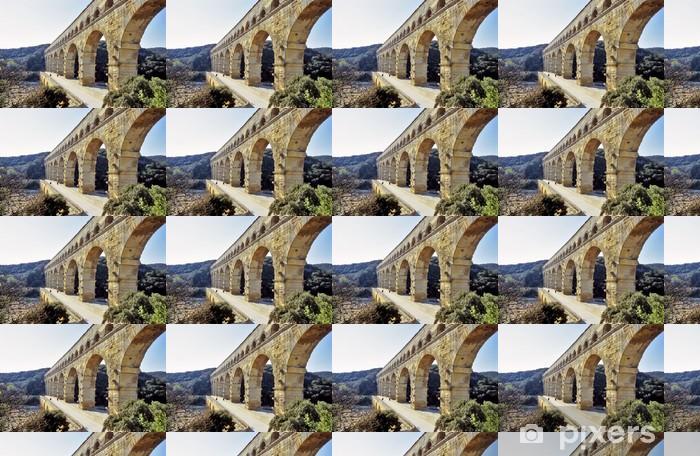 Vinylová tapeta na míru Pont du Gard - Evropa
