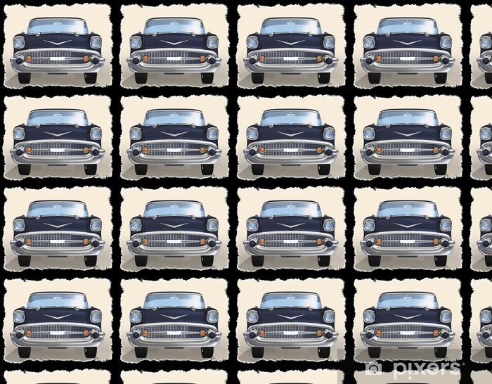 Vinylová tapeta na míru Staré auto 3d - Na cestě