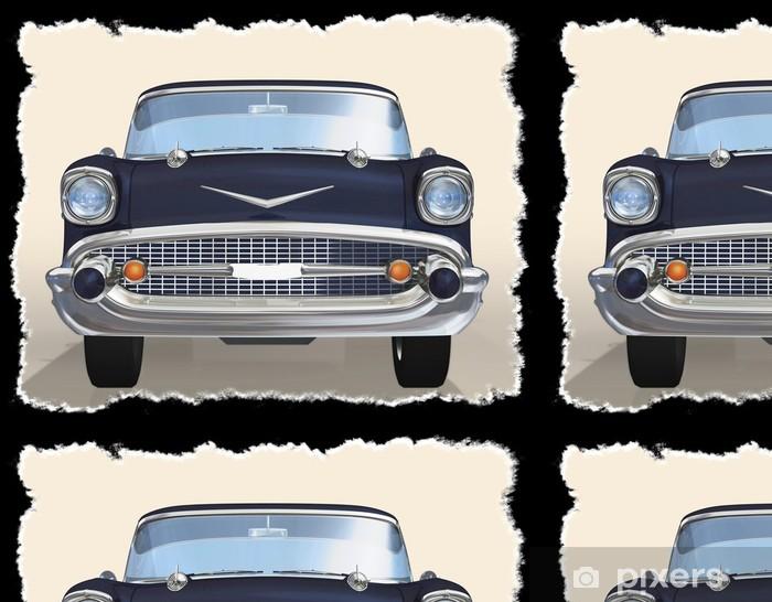 Vinylová Tapeta Staré auto 3d - Na cestě