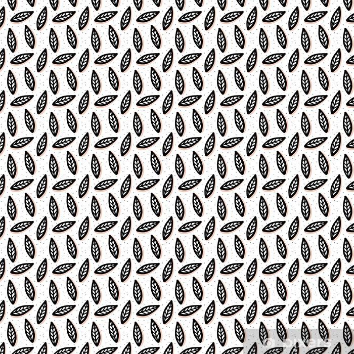 Vinyl behang, op maat gemaakt Abstract naadloos patroon in Scandinavische stijl. - Grafische Bronnen
