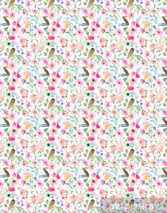 Tapeta na wymiar winylowa Botaniczny wzór - Rośliny i kwiaty