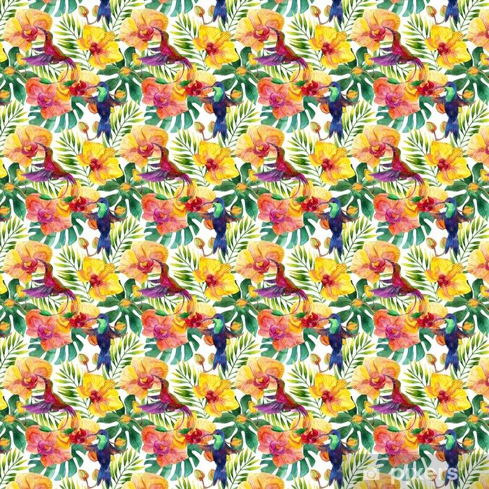 Tapeta na wymiar winylowa Wzór bezszwowy - Rośliny i kwiaty
