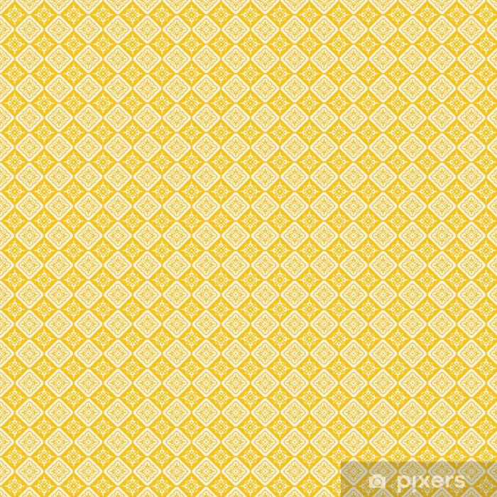 Carta da parati in vinile su misura Seamless vintage pattern - Risorse Grafiche