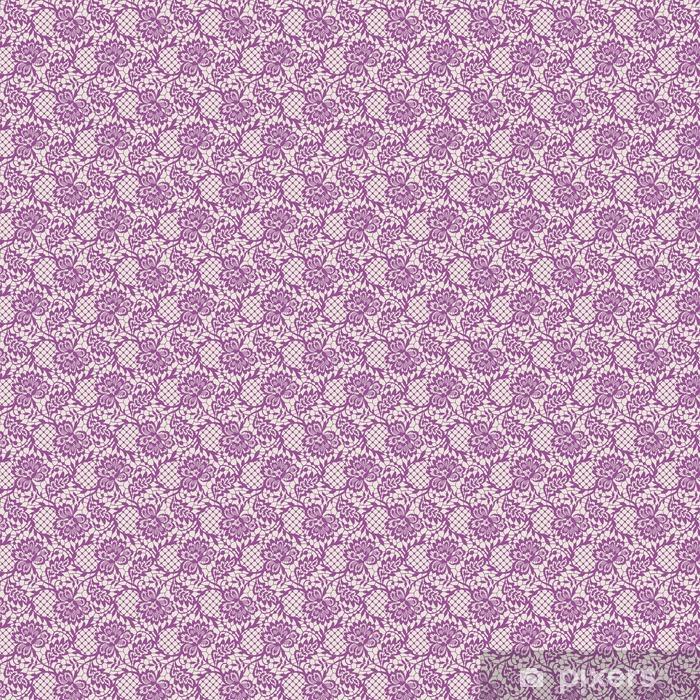Vinyl behang, op maat gemaakt Roze Kant Naadloos Patroon - Grafische Bronnen