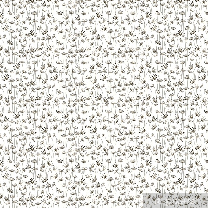 Papel de parede em vinil à sua medida Seamless com ornamentado floral - Recursos Gráficos