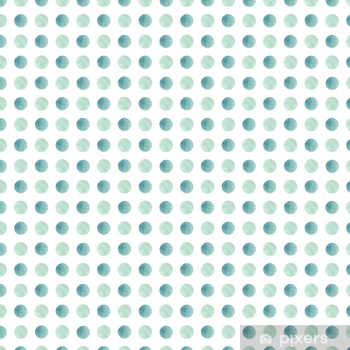 Watercolor texture. Seamless pattern. Watercolor circles in pastel colors on white background. Pastel