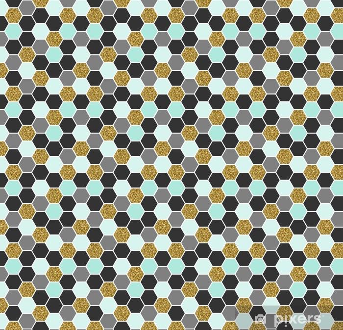 Sekskantet sømløst mønster