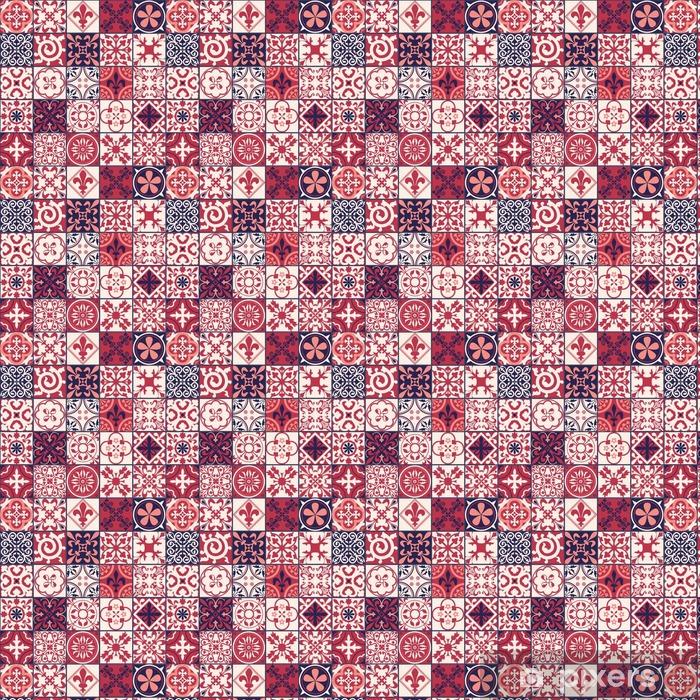 Tapete Marokkanischen Fliesen Muster Pixers Wir Leben Um Zu