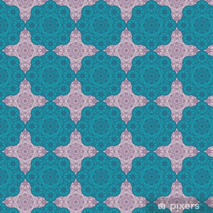 Papel pintado estándar a medida Étnico sin patrón floral - Recursos gráficos