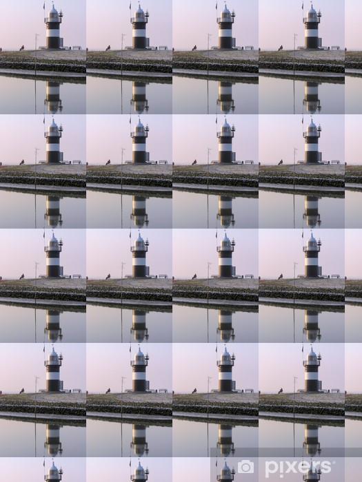 "Vinylová tapeta na míru Leuchtturm ""Kleiner Preusse"", Nordsee - Infrastruktura"