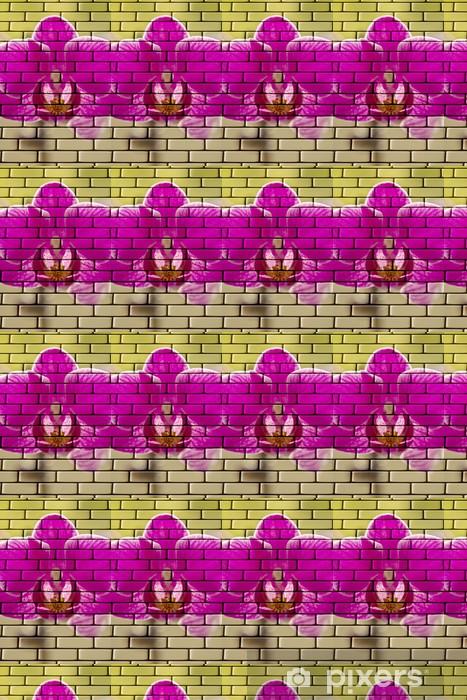 Tapeta na wymiar winylowa 3D Orchidee - Kwiaty